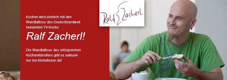 Mit den Wandtattoos von Ralf Zacherl wird kochen sinnlich!