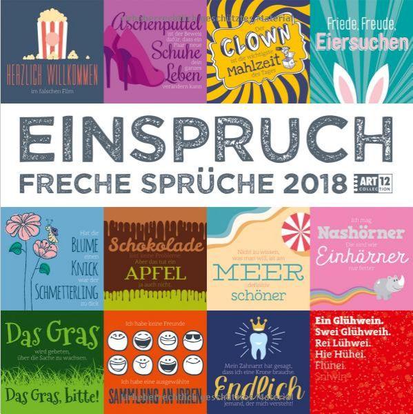 Einspruch Kalender – Wandkalender 2018