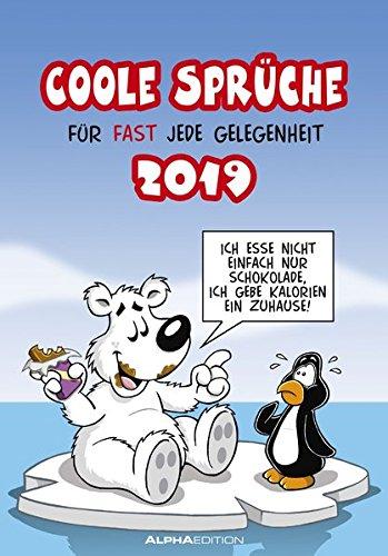 Coole Sprüche 2019: by Dirk Pietrzak Kalender – Terminkalender, Posterkalender, Wandkalender