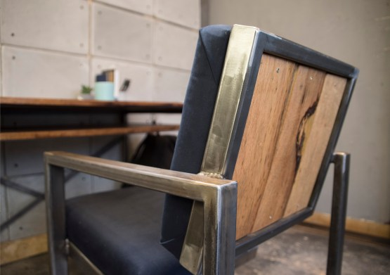 industrial style desk chair custom furniture made in hong kong