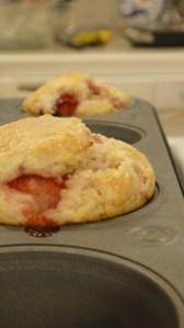Strawberry Lemonade Muffins