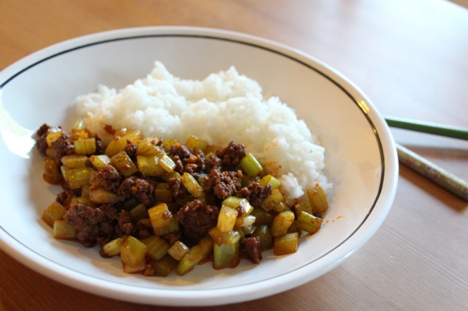 Fuchsia Dunlop's Sichuanese Chopped Celery with Beef