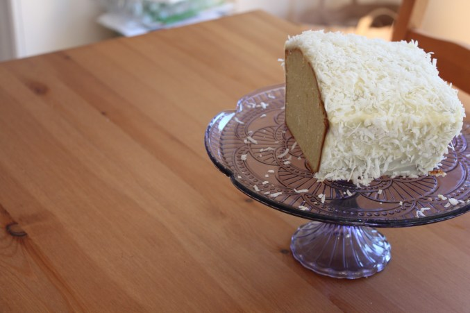 Howard Johnson Coconut Cake
