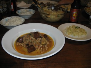 Jungle Curry of Minced Quail