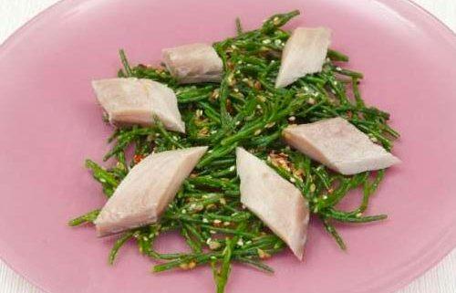 Cured Mackerel with Japanese Seaweed