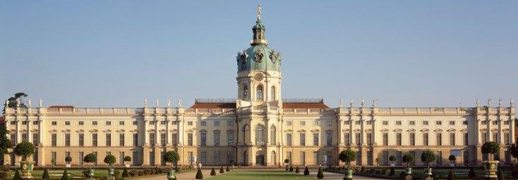 Berlin, Schloss Charlottenburg, Gartenseite, Foto: Hans Bach (c) SPSG