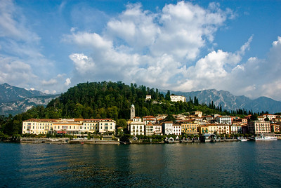 The town of Bellagio.