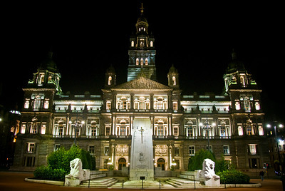 Glasgow City Chambers on George Square