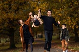 family photo shoots in London