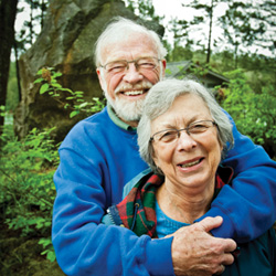 Eugene Peterson and wife Janice