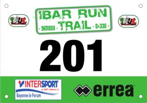IBAR RUN TRAIL 2016 Dossards