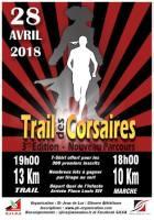 AFFICHE TRAIL DES CORSAIRES