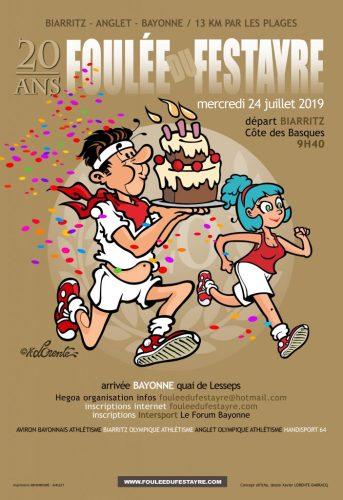 AFFICHE-2019 foulée festayre