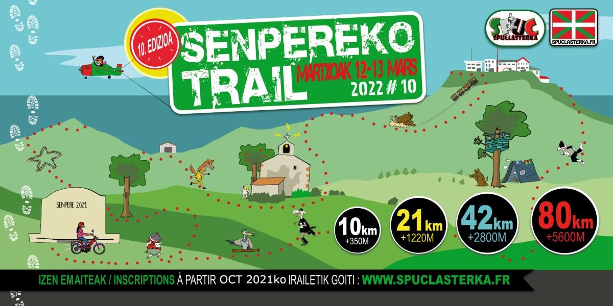 affiche senpereko trail 2022