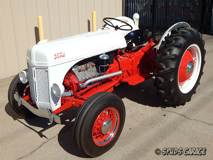 Cylinder Ford Engine 1952 4 Tractor
