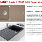 Granit Kuchenspule Auflagespule Spultisch Beige Franke Basis Bfg 611 86 Sahara Baumarkt Kucheninstallation