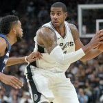 Spurs Open Season With Home Win Against Timberwolves