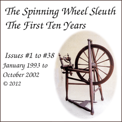 The Spinning Wheel Sleuth: The First Ten Years compilation cover