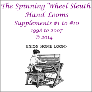 Cover for Hand Loom Supplement Compilation, issues 1-10