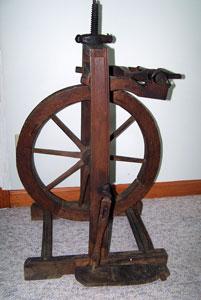 Bonnie's upright wheel