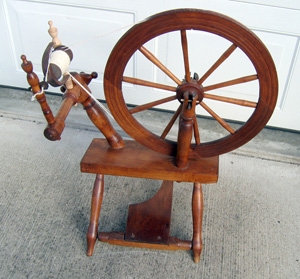 Unsigned four-legged wheel