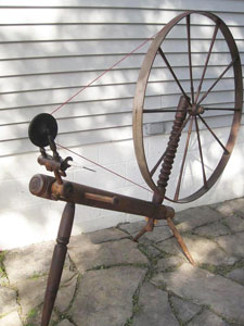 "Wheel marked ""W. DINNIN"""