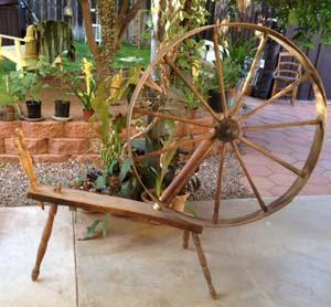 "Incomplete great wheel marked ""TILDEN"""
