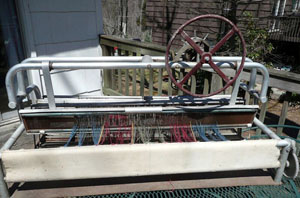 Nadeau Hand-Skill loom, Model 15-N, 4 shaft