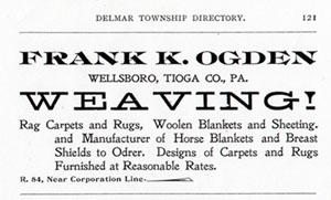 1899 Tioga County [PA] directory listing