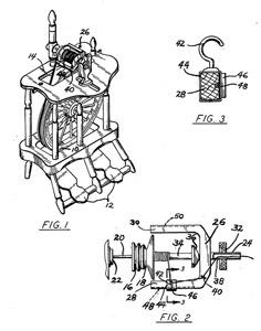 Doloria Chapin's Yarn Guide, Patent 4,090,347