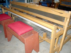 100 inch (2.54 m) Clement loom from Canada.