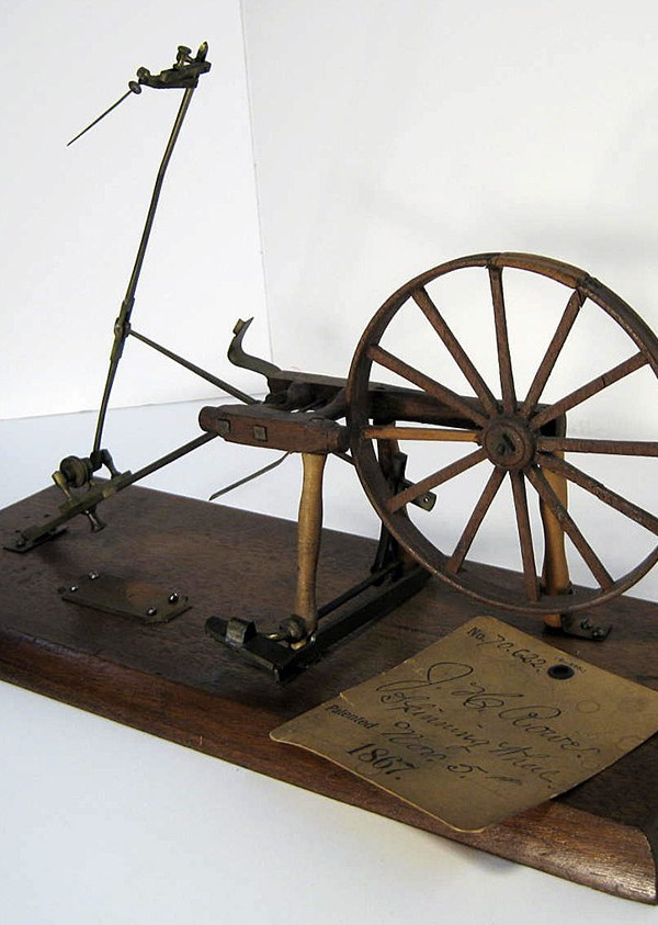 Model for Patent #70,622. Jonas H. Rowe, November 5, 1867