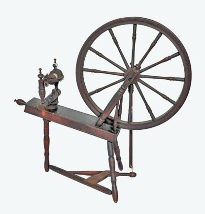 Gylland spinning wheel Style #2.