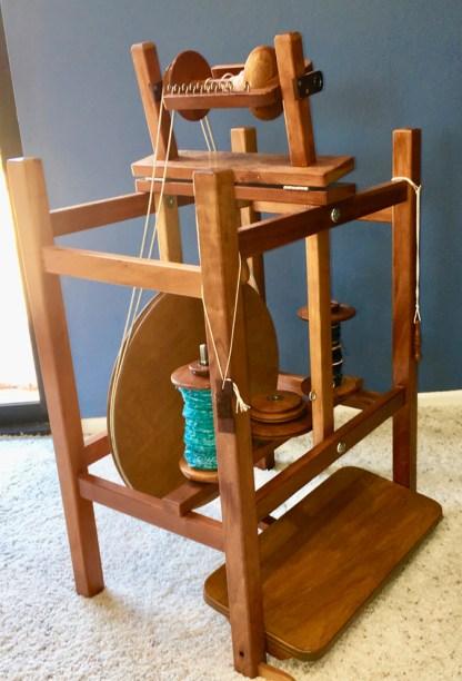 Ernest Mason Chair-style wheel in cherry