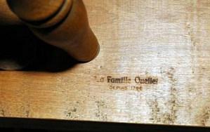 """Mark """"La Famille Ouellet, Depuis 1796"""""""