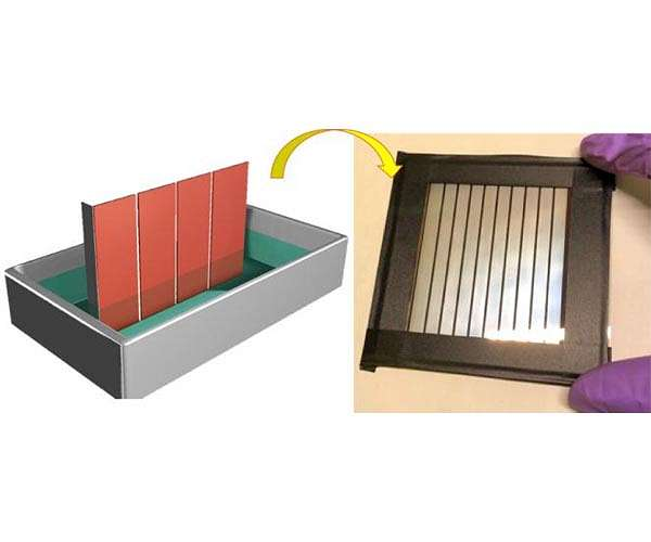 New perovskite fabrication method for solar cells paves way to large-scale production
