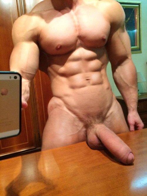 selfie hung dick cock big