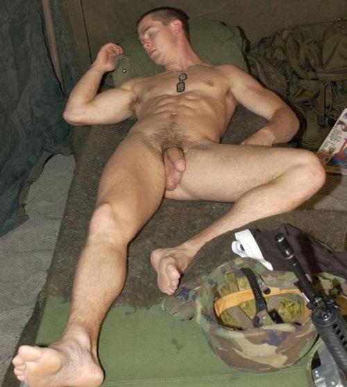 older men caught sleeping naked