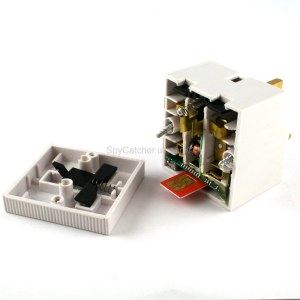 GSM Bug-13AMP UK Double Adaptor E