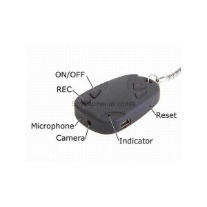 Car Alarm Key Fob Hidden Camera-6659