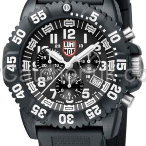 Luminox Black Dial 3081 Navy SEAL Dive Chronograph A