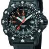 Luminox Black Dial Navigation Watch, 8821km Dive