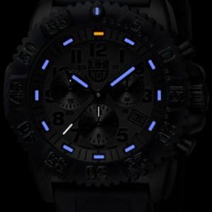 Luminox Black Dial and Face, 3081BO Navy Seal Dive Chronograph-5324