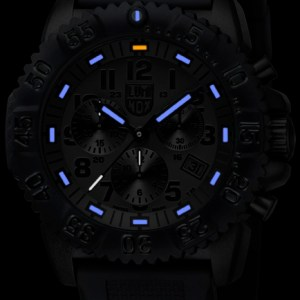 Luminox Black Dial and Face, 3081BO Navy Seal Dive Chronograph-5324