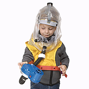 Children's Gas Mask Hood-0