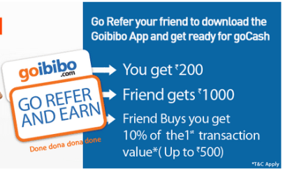 Goibibo 100% working trick