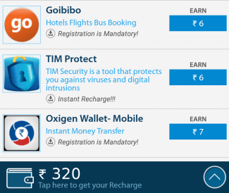 free recharge app 2016