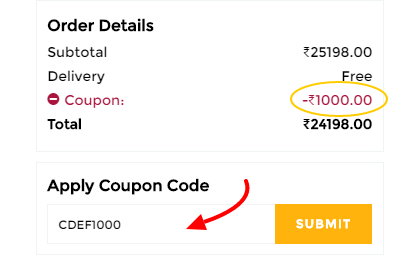 redeem coupon code at tatacliq