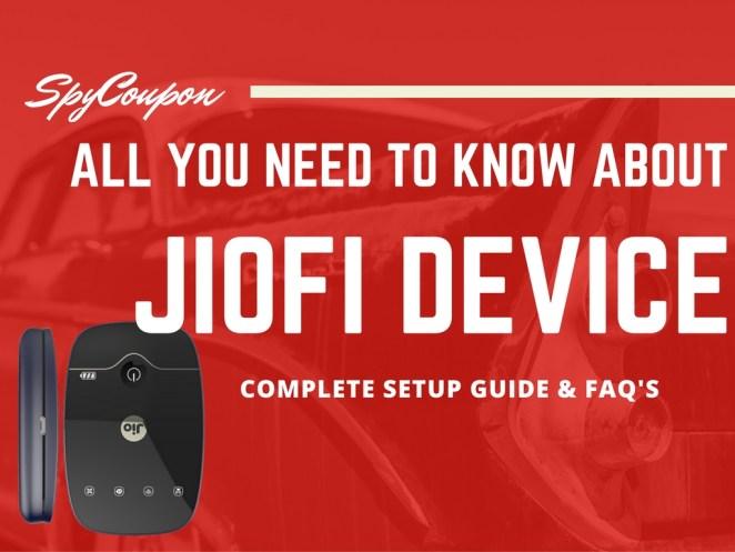 jiofi setup and reviews