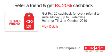 refer airtel money